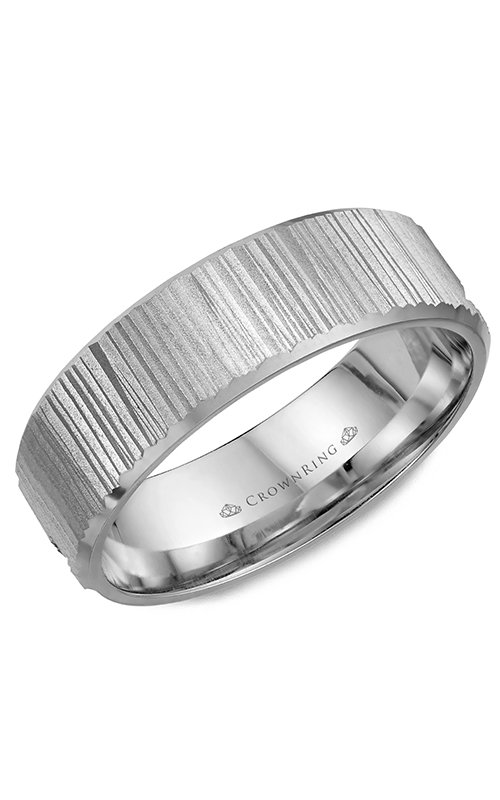 CrownRing Classic and Carved Wedding Band WB-7920 product image
