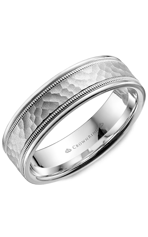 CrownRing Carved Wedding band WB-9917 product image