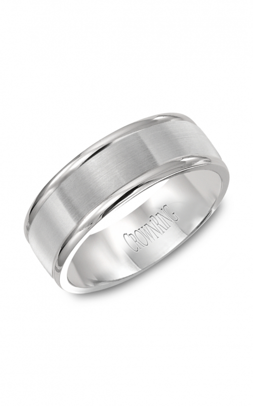 CrownRing Classic Wedding band WB-7134SP product image