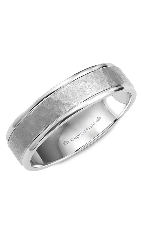 CrownRing Carved Wedding band WB-8140 product image