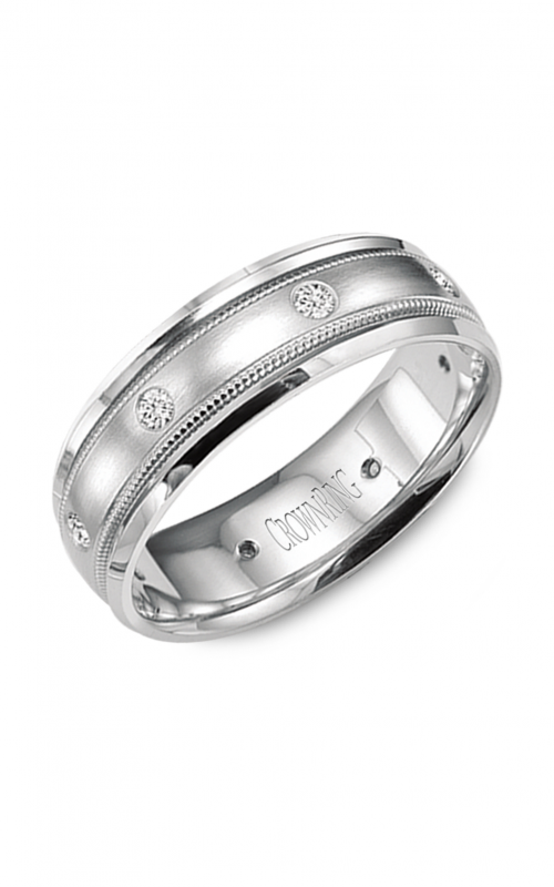 CrownRing Wedding band Diamond WB-9025 product image