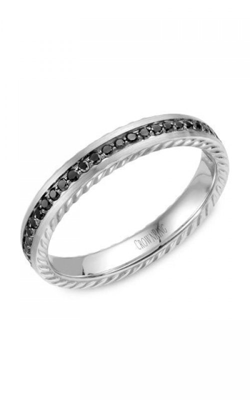 CrownRing Wedding band Rope WB-002RD35W product image