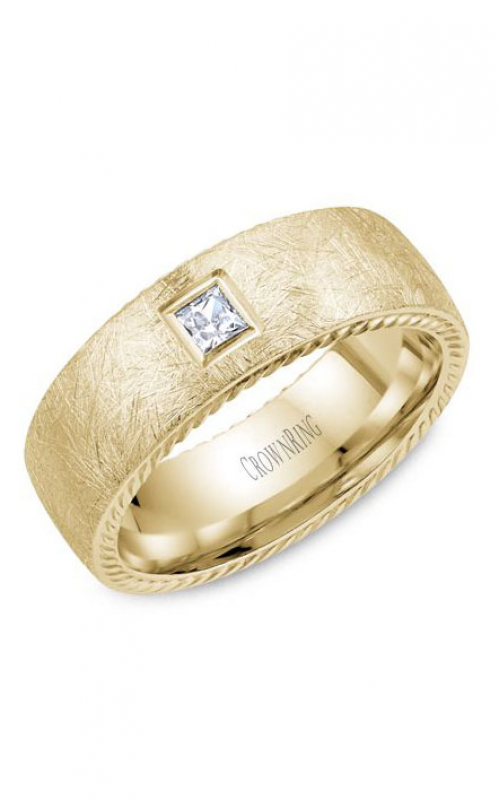 CrownRing Rope Wedding band WB-013RD8Y product image