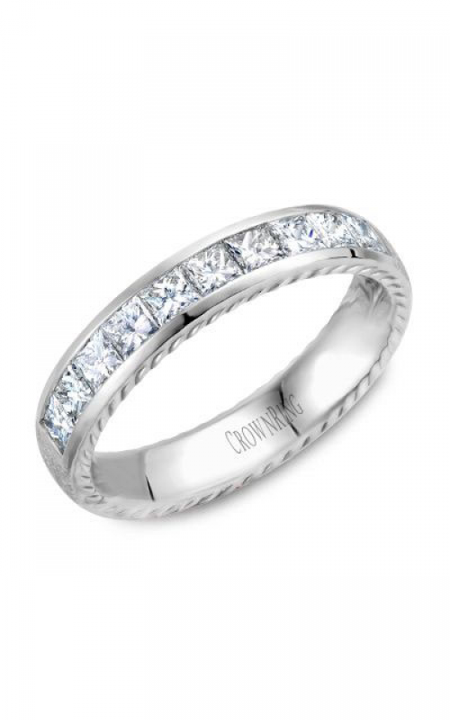CrownRing Rope Wedding band WB-013RD45W product image
