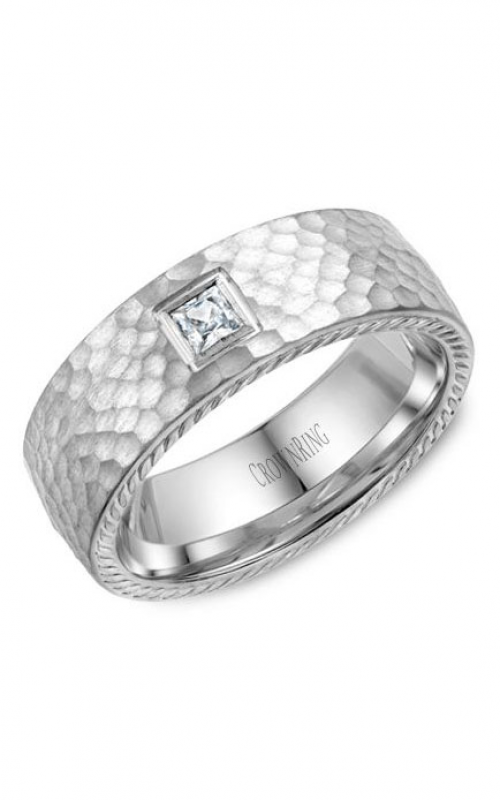 CrownRing Rope Wedding band WB-021RD8W product image