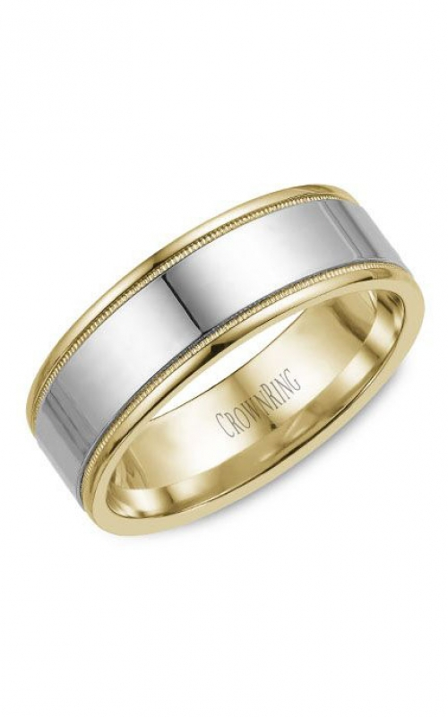 CrownRing Classic Wedding band WB-6811 product image