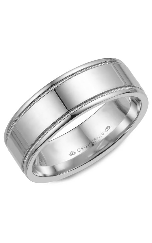 CrownRing Wedding band Classic and Carved WB-6815 product image