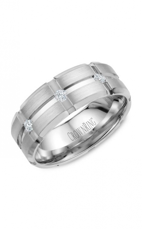 CrownRing Wedding band Diamond WB-9114 product image