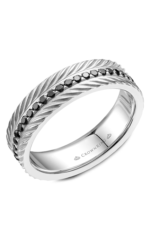 CrownRing Wedding band Rope WB-061RD6W product image