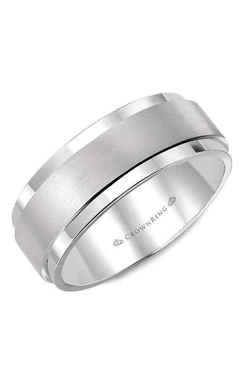 CrownRing Diamond Wedding band WB-9004 product image