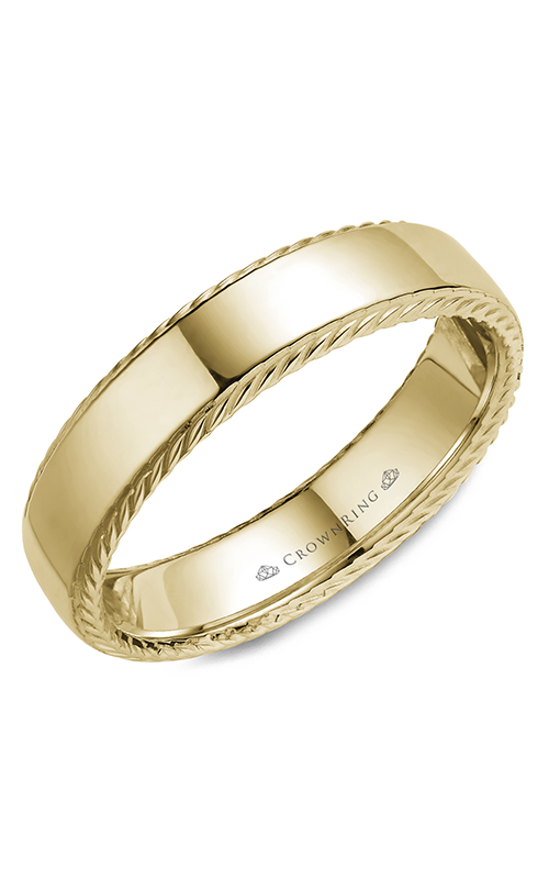 CrownRing Rope Wedding band WB-007R6Y product image