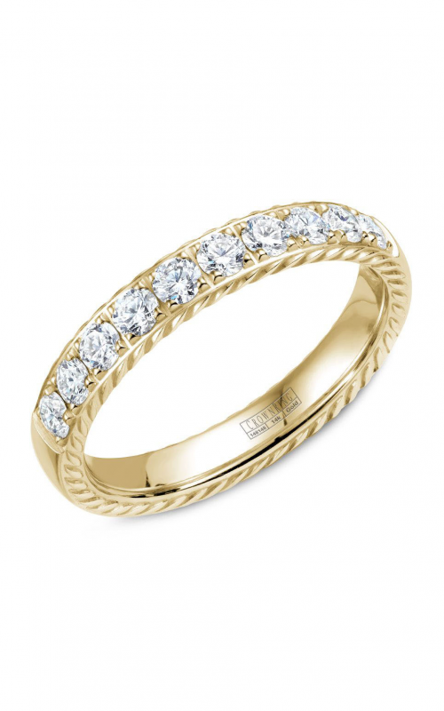 CrownRing Rope Wedding band WB-015RD4Y product image