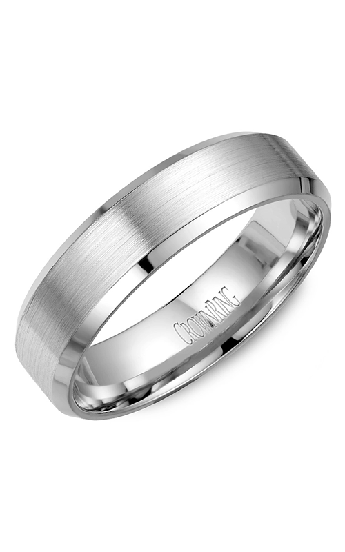 Crown Ring Men's Wedding Band WB-7007 product image