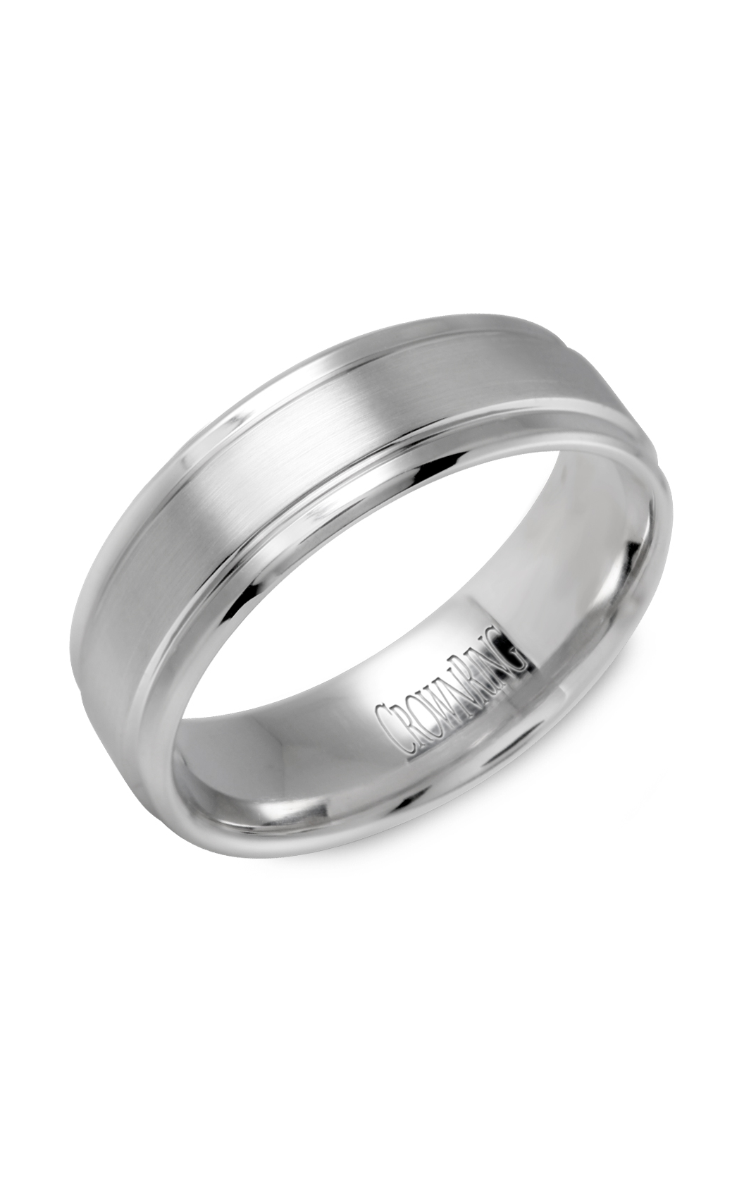 Crown Ring Men's Wedding Band WB-9502 product image