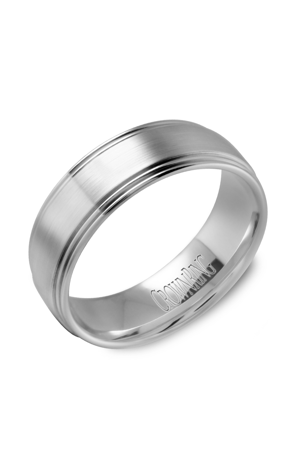 Crown Ring Men's Wedding Band WB-9507 product image