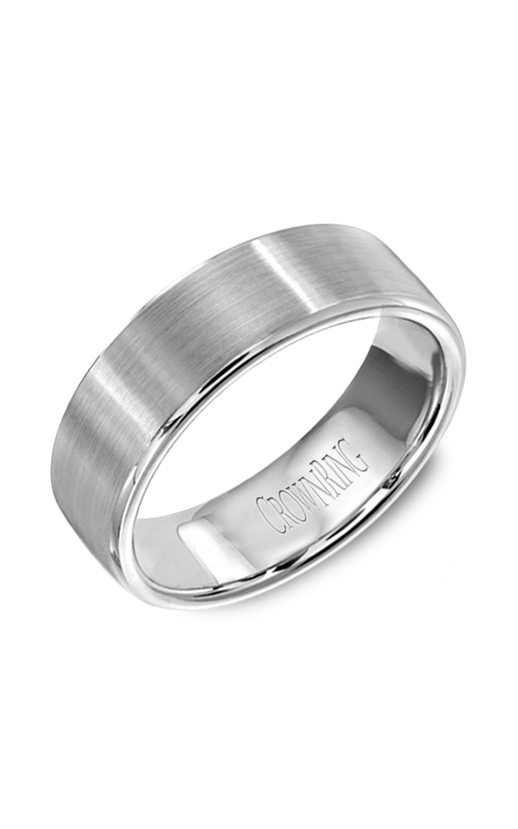 Crown Ring Men's Wedding Band WB-9599 product image