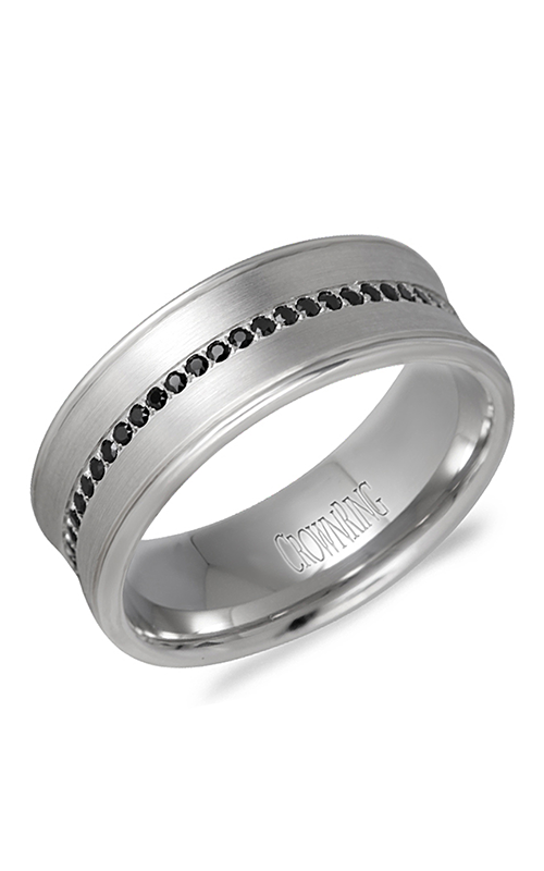 Crown Ring Men's Wedding Band WB-9615 product image