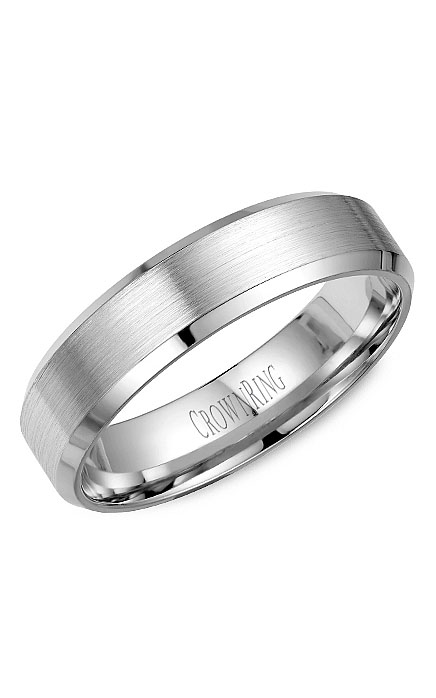 Crown Ring Men's Wedding Band WB-7281 product image