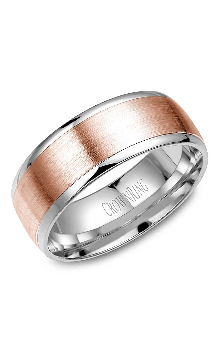 Crown Ring Men's Wedding Band WB-RW7068 product image