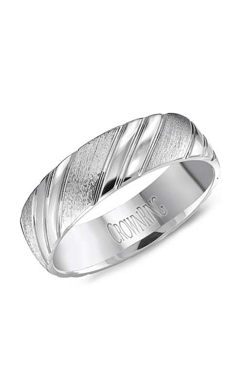 CrownRing Men's Wedding Band WB-8051 product image