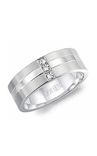 CrownRing Diamond Wedding Band WB-8252 product image