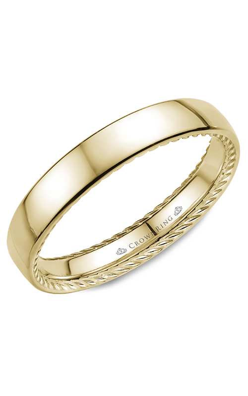 CrownRing Rope Wedding Band WB-012R35Y product image