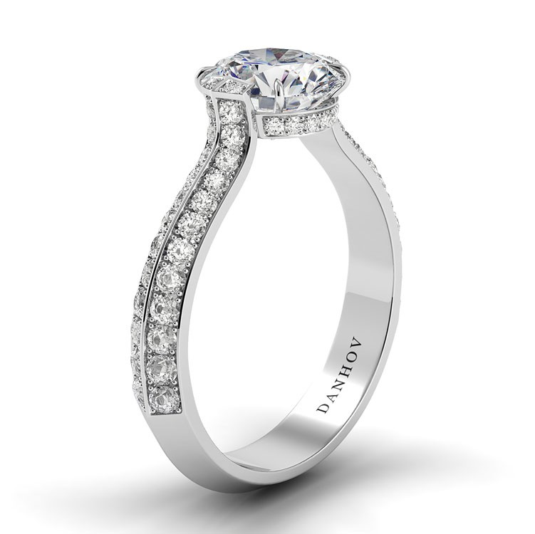 Danhov Classico Collection Engagement ring CL147 product image