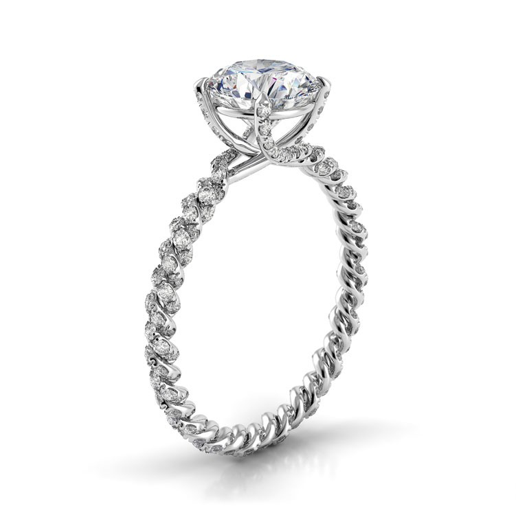 Danhov Eleganza Collection Engagement ring ZE105 product image