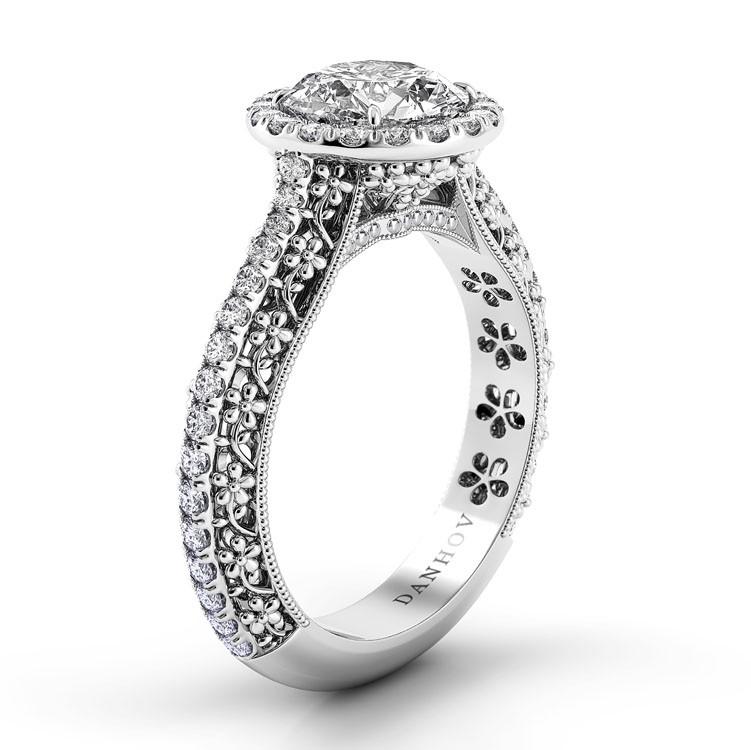 Danhov Petalo Engagement ring FE107 product image