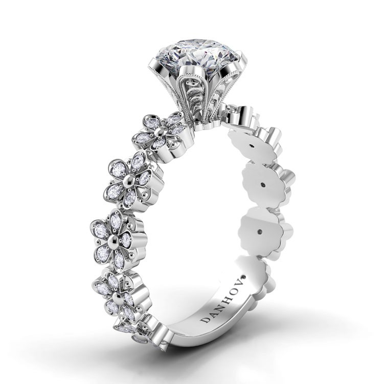 Danhov Petalo Engagement ring FE104 product image