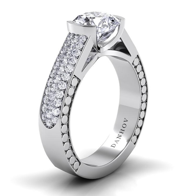 Danhov Tubetto Engagement ring TE114 product image