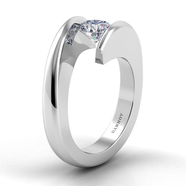Danhov Voltaggio Engagement ring V119 product image