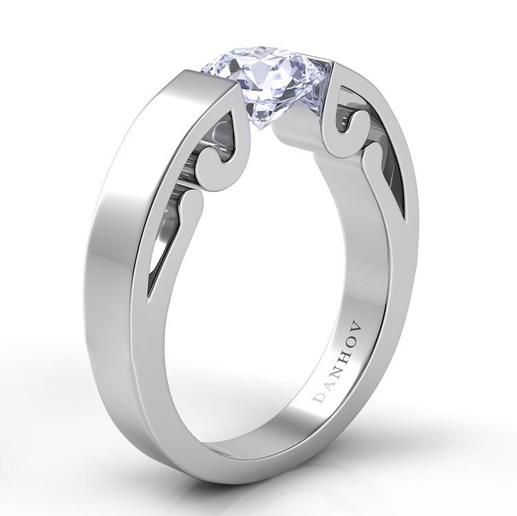 Danhov Voltaggio Engagement ring V117 product image