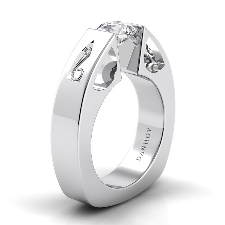Danhov Voltaggio Engagement ring V103 product image
