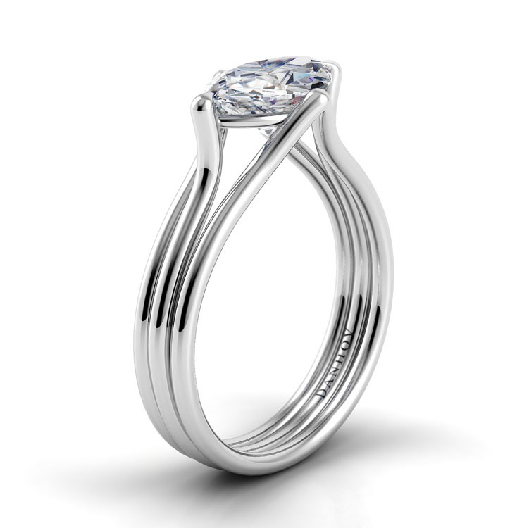 Danhov Solo Filo Engagement ring SE105-MQEW product image