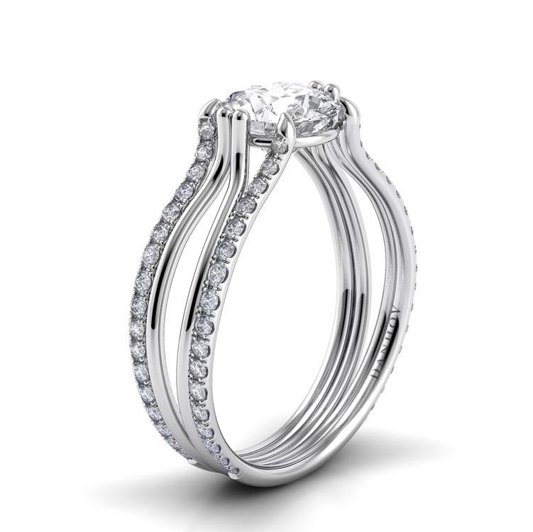 Danhov Solo Filo Engagement Ring SE112 product image