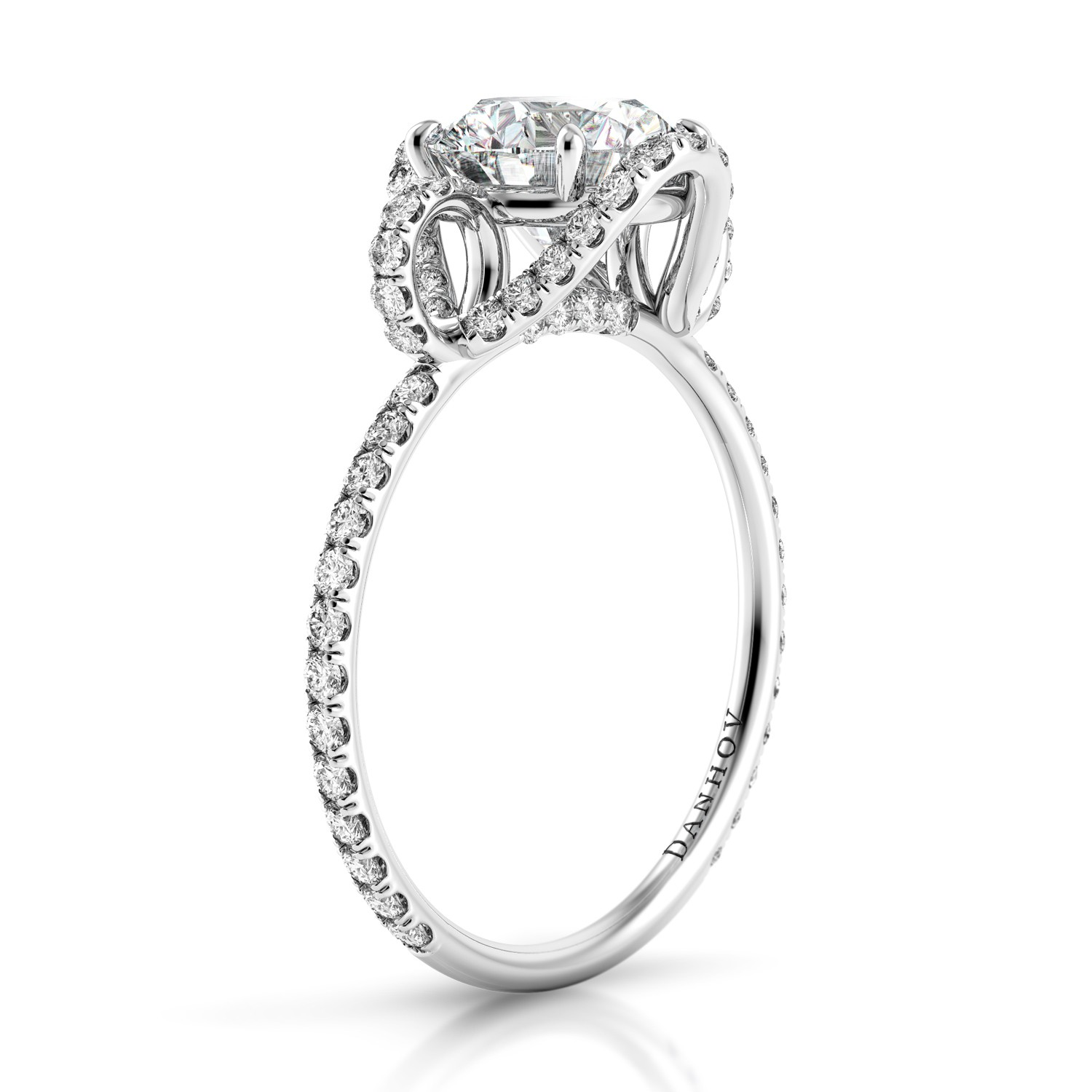 Danhov Solo Filo Engagement ring SE124 product image