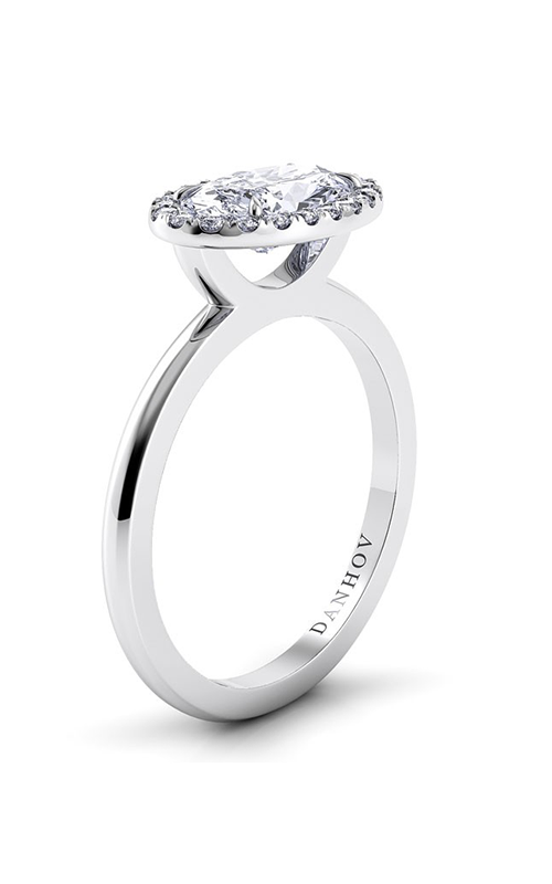 Danhov Per Lei Collection Engagement ring LE104-OVEW product image