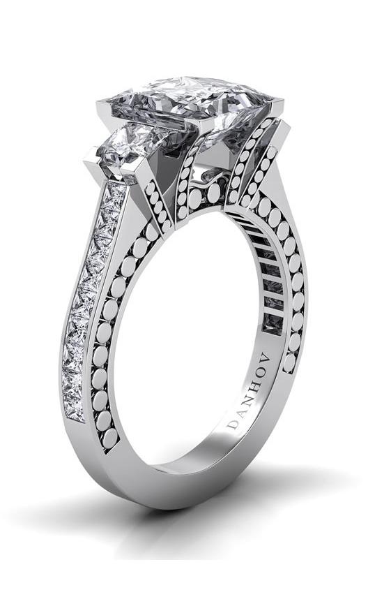 Danhov Tubetto Engagement Ring TE116-PR product image