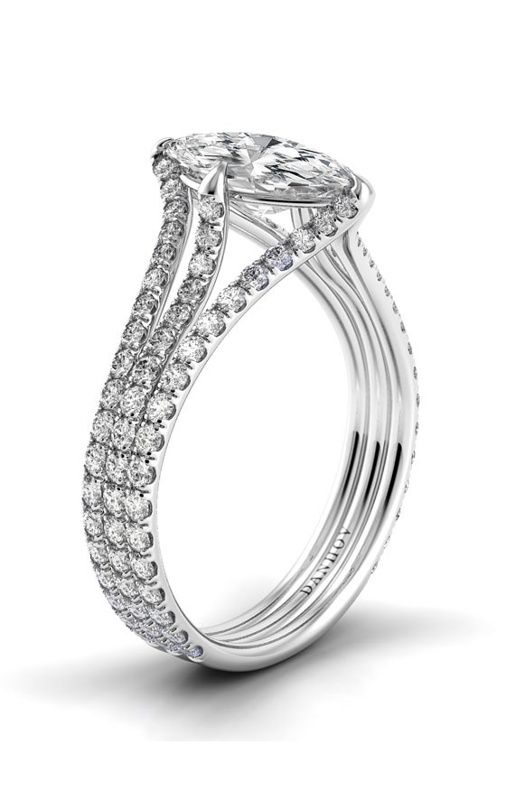 Danhov Solo Filo Engagement ring SE104-MQ product image