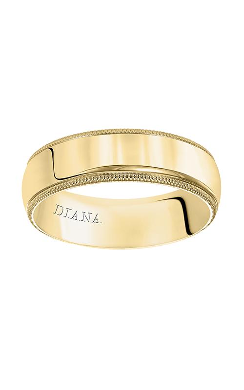 Diana Wedding band 01-LMIR065-G product image