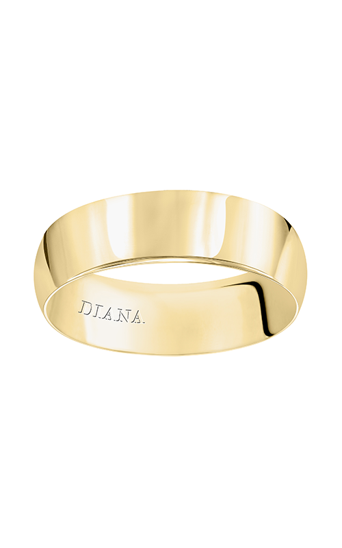 Diana Wedding band 01-LPIR065-G product image
