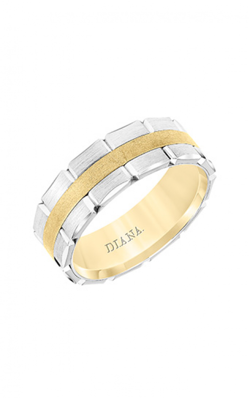 Diana Wedding Band 11-N8774YW75-G product image