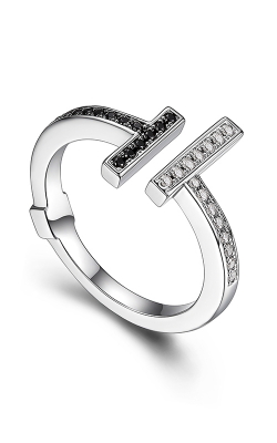 Elle Tuxedo Fashion ring R03918 product image