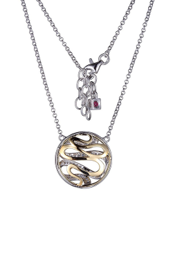 Elle Moon Shadow Necklace N10134YWZ16 product image