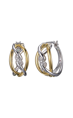 Elle Swirl Earrings E10119YWZ product image