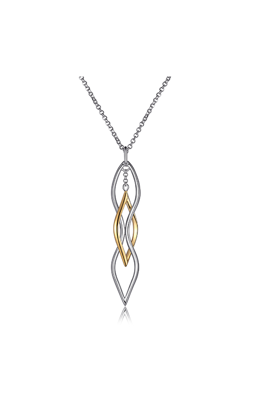 Elle Wave Necklace N0791 product image