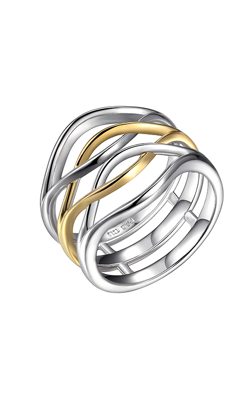 Elle Wave Fashion ring R03666 product image
