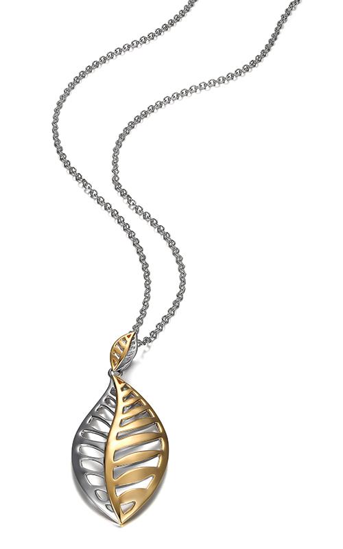 Elle Gold Leaf Necklace N0773 product image
