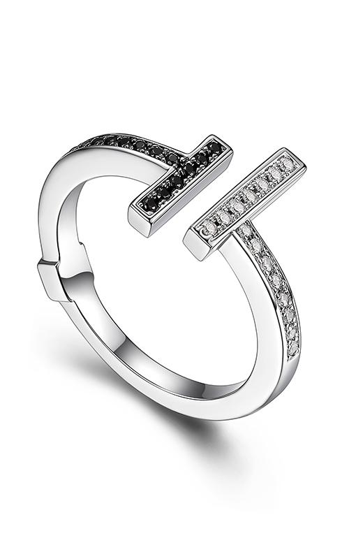Elle Tuxedo Fashion ring R03916 product image